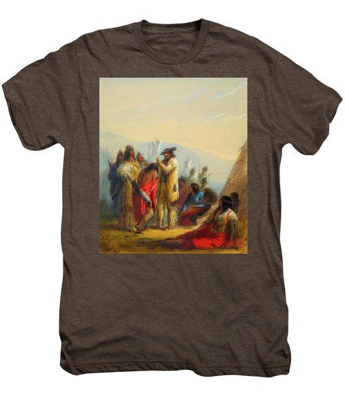 Present To Indians Men's Premium T-Shirt