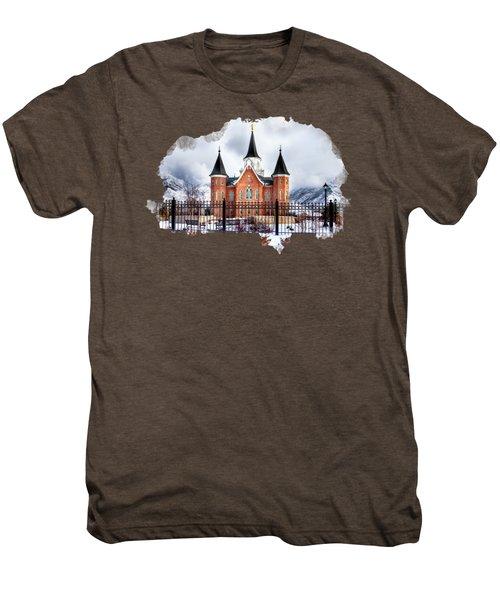 Provo City Center Temple Lds Large Canvas Art, Canvas Print, Large Art, Large Wall Decor, Home Decor Men's Premium T-Shirt