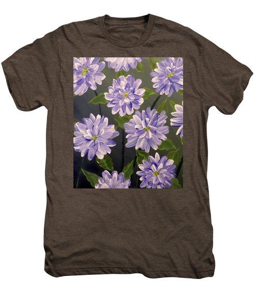 Purple Passion Men's Premium T-Shirt by Teresa Wing