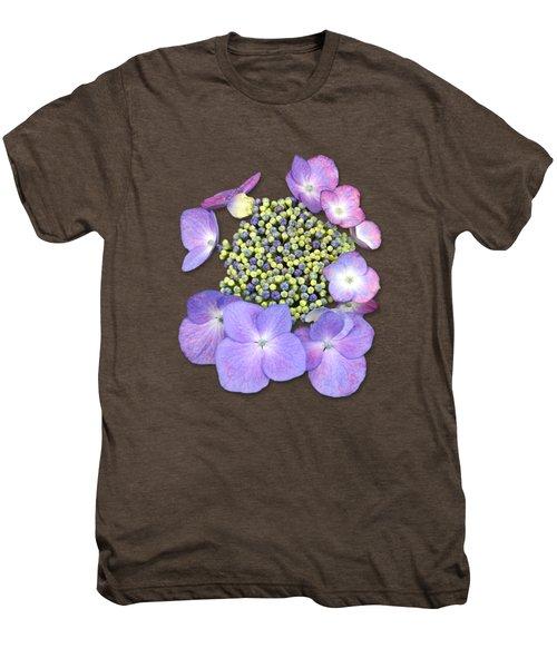 Purple Pods Sehemu Mbili Unyenyekevu Men's Premium T-Shirt