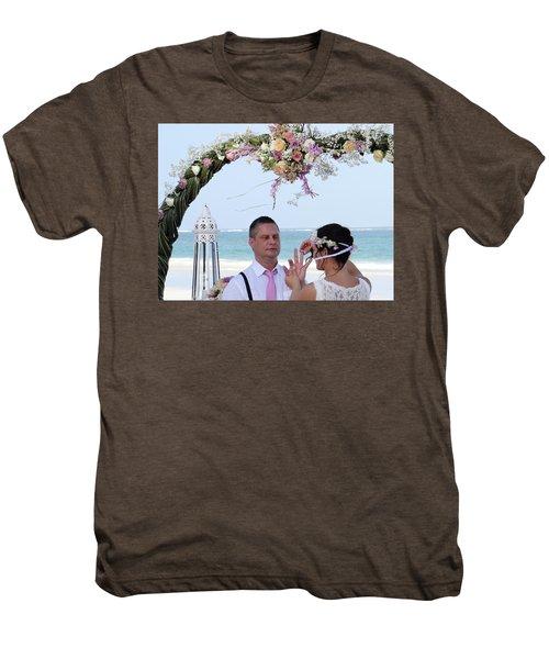 Putting On The Ring Men's Premium T-Shirt