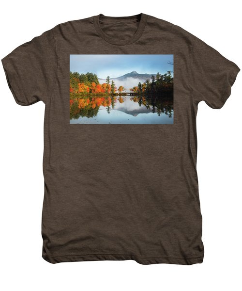 Mount Chocorua Fall Reflection Men's Premium T-Shirt
