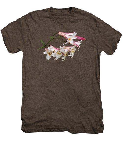 Radiant Lilies Men's Premium T-Shirt