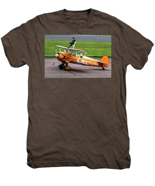 Raf Scampton 2017 - Breitling Wingwalkers At Rest Men's Premium T-Shirt