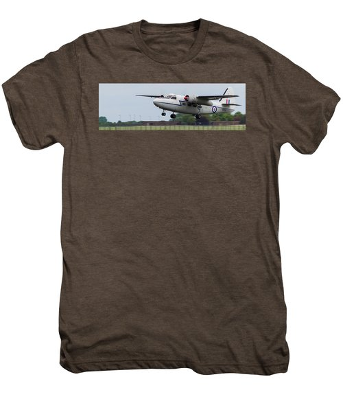 Raf Scampton 2017 - Hunting Percival P 66 Pembroke Taking Off Men's Premium T-Shirt
