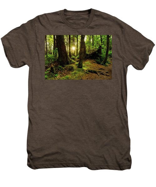 Rainforest Path Men's Premium T-Shirt