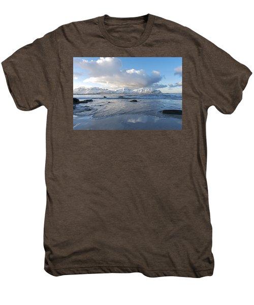 Ramberg Beach, Lofoten Nordland Men's Premium T-Shirt