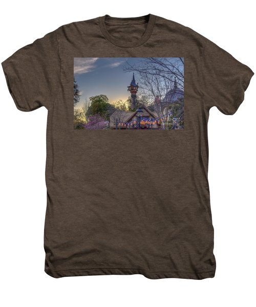 Rapunzel's Tower At Sunset Men's Premium T-Shirt