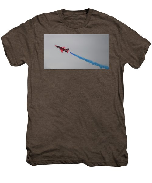 Red Arrow Blue Smoke - Teesside Airshow 2016 Men's Premium T-Shirt