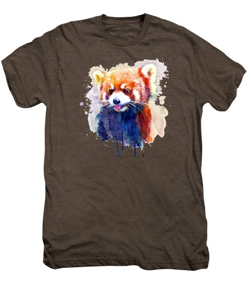 Red Panda Portrait Men's Premium T-Shirt