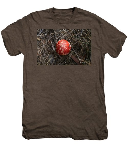 Red Spotty Toadstool Men's Premium T-Shirt