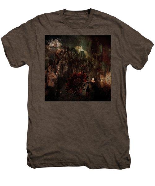 Red Sunflower Men's Premium T-Shirt
