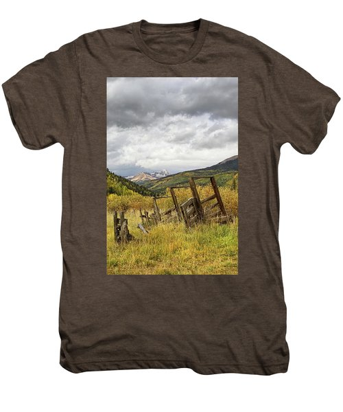 Remains Of A Corral Men's Premium T-Shirt