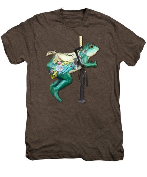 Ride The Frog Men's Premium T-Shirt