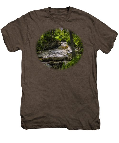 Men's Premium T-Shirt featuring the photograph Riverside by Mark Myhaver
