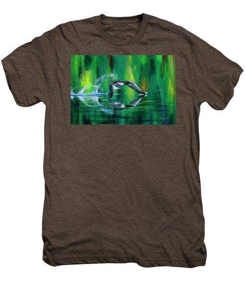 Rocket Feathers Men's Premium T-Shirt