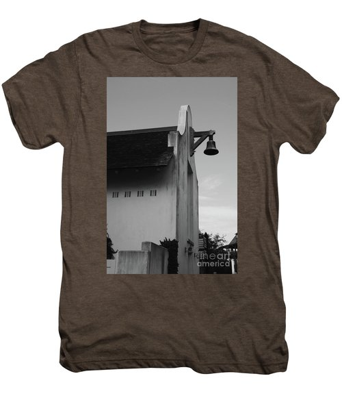 Rosemary Beach Post Office In Black And White Men's Premium T-Shirt