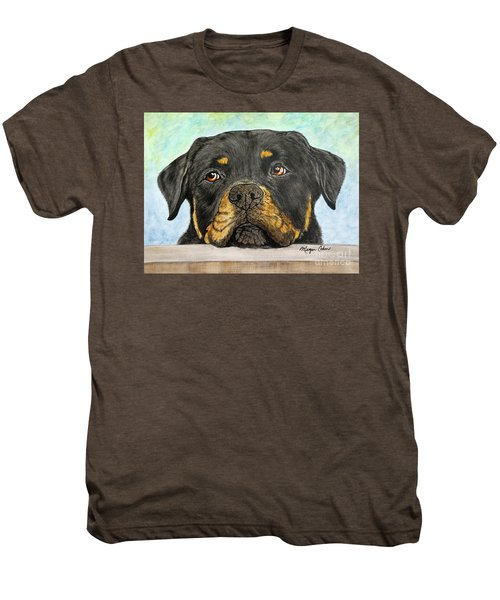 Rottweiler's Sweet Face 2 Men's Premium T-Shirt