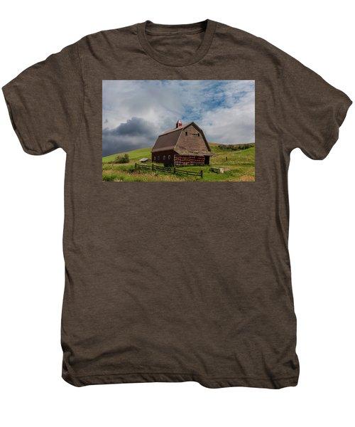 Rustic Barn Palouse Washington Men's Premium T-Shirt