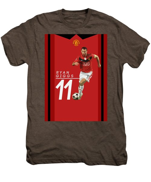 Ryan Giggs Men's Premium T-Shirt by Semih Yurdabak