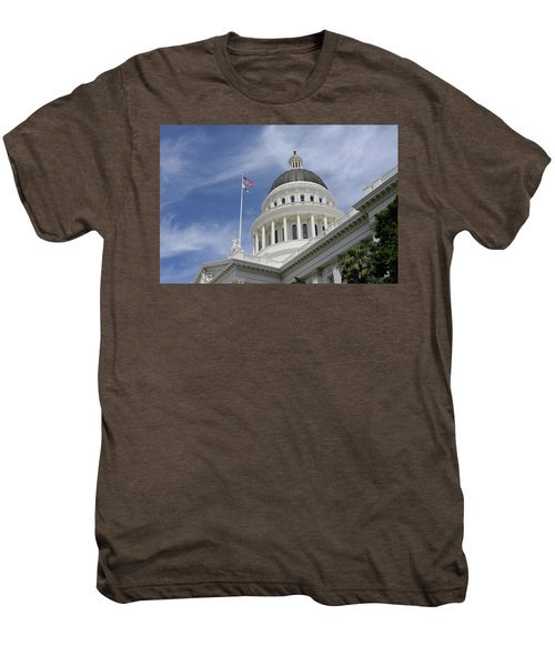 Sacramento Capitol Building Men's Premium T-Shirt