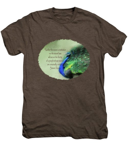 Samuel Adams - Quote Men's Premium T-Shirt