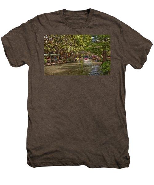 San Antonio Riverwalk Men's Premium T-Shirt
