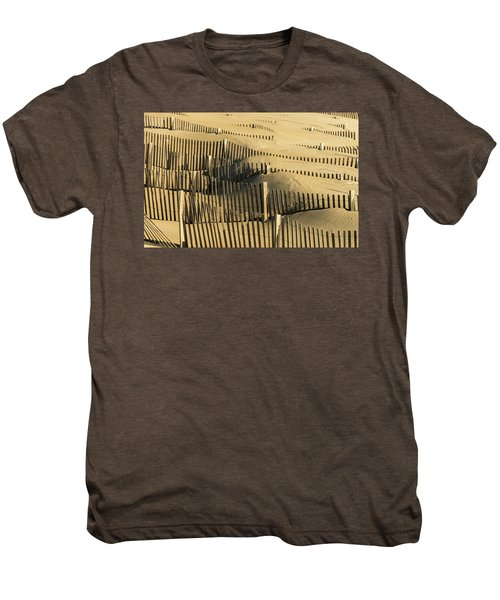 Sand Dunes Of The Outer Banks Men's Premium T-Shirt