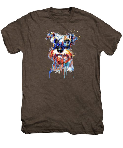 Schnauzer Head Men's Premium T-Shirt