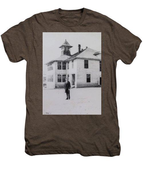 School 1901 Back Men's Premium T-Shirt