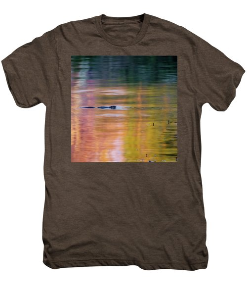 Men's Premium T-Shirt featuring the photograph Sea Of Color Square by Bill Wakeley