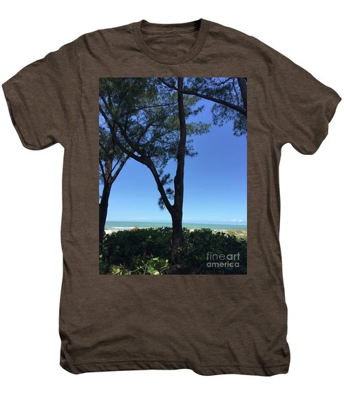 Seagrapes And Pines Men's Premium T-Shirt