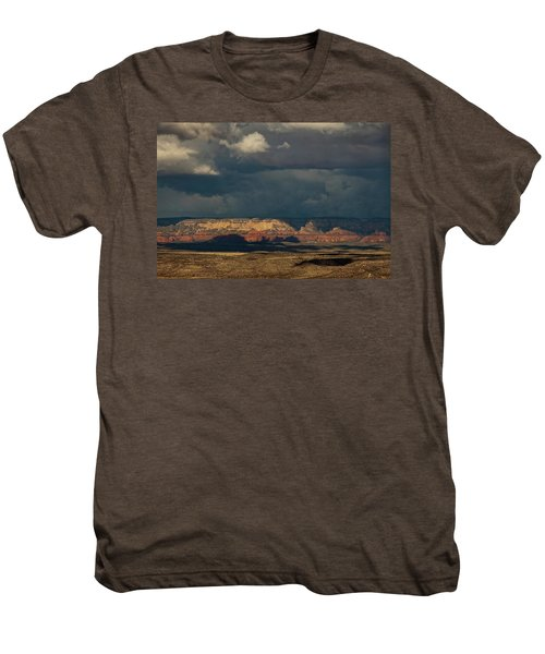 Secret Mountain Wilderness Storm Men's Premium T-Shirt