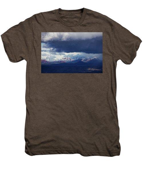 Sedona Area Third Winter Storm Men's Premium T-Shirt