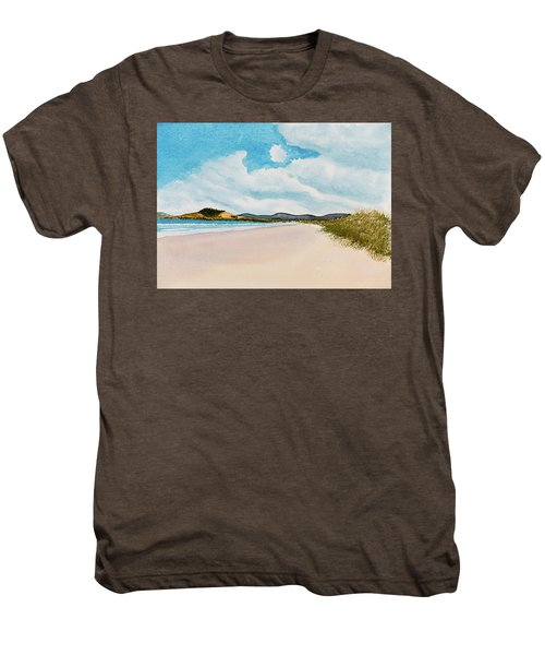 Seven Mile Beach On A Calm, Sunny Day Men's Premium T-Shirt