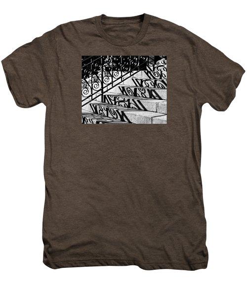 Shadow On The Rotunda Stairs Men's Premium T-Shirt