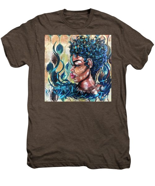 She Was A Cool Flame Men's Premium T-Shirt