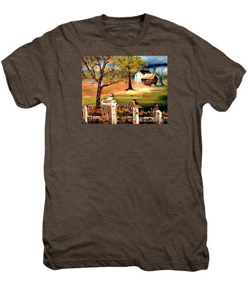 Signs Of Spring Men's Premium T-Shirt