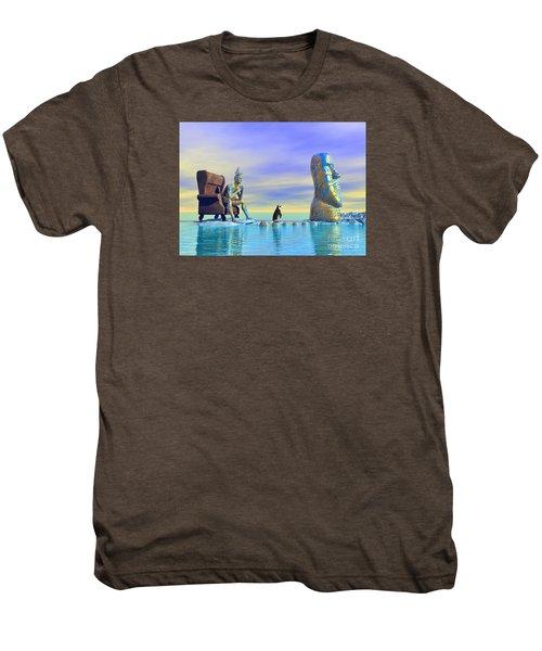 Silent Mind - Surrealism Men's Premium T-Shirt