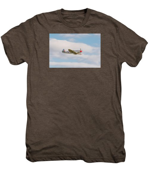 Silver Spitfire Men's Premium T-Shirt by Gary Eason