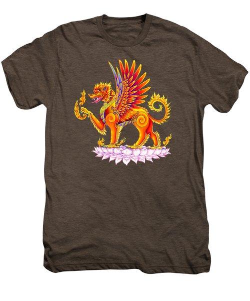 Singha Winged Lion Men's Premium T-Shirt