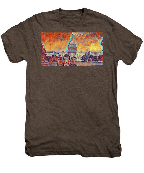Skeptical Eyebrows Men's Premium T-Shirt