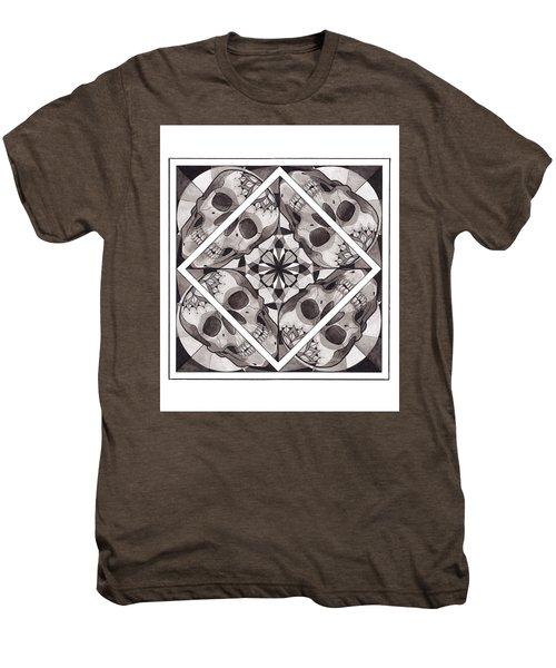Skull Mandala Series Number Two Men's Premium T-Shirt