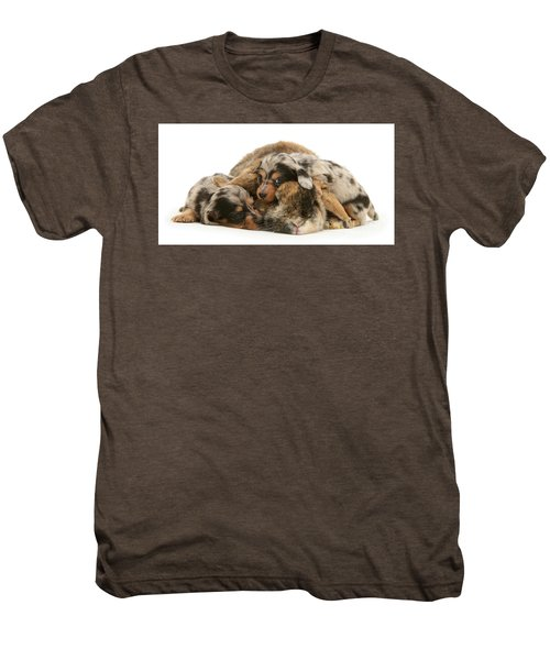 Sleep In Camouflage Men's Premium T-Shirt