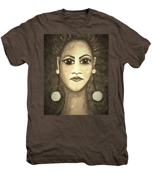 Smoking Woman 1 Men's Premium T-Shirt
