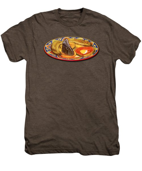 Snacking Butterfly Men's Premium T-Shirt