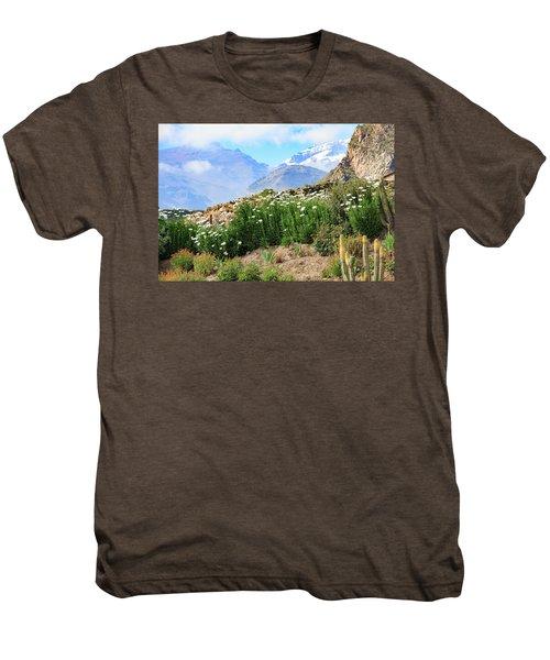 Snow In The Desert Men's Premium T-Shirt