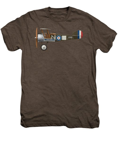 Sopwith Camel - B6313 March 1918 - Side Profile View Men's Premium T-Shirt