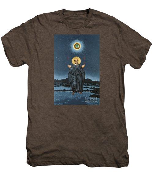 St. Ignatius In Prayer Beneath The Stars 137 Men's Premium T-Shirt
