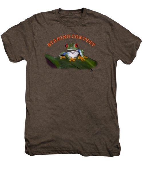 Staring Contest Men's Premium T-Shirt